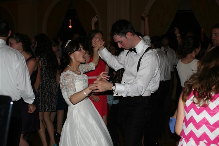 Bride and Groom Dancing DeSantis DJ music event planning