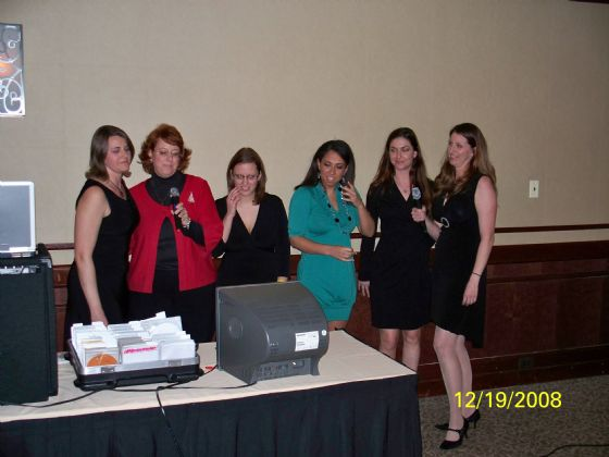 Corporate Holiday party with Baltimore Karaoke music
