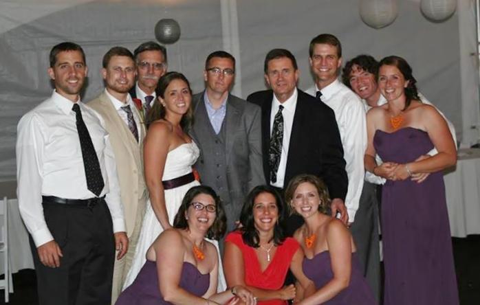 Dara and family DJ Joe DeSantis Wedding Reception Baltimore MD