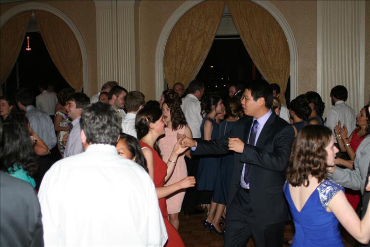 DeSantis DJ Baltimore hotel wedding guests dancing music