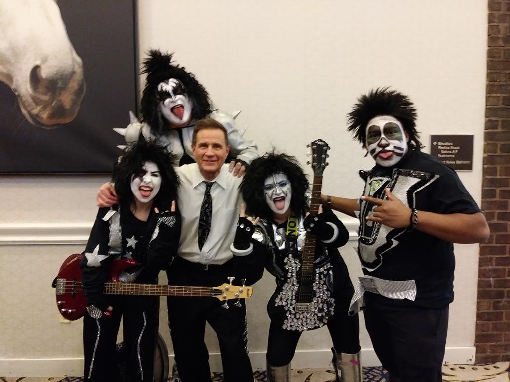 Joe the DJ with Kiss DeSantis Entertainment Corporate Music and Event Planning (Copy)