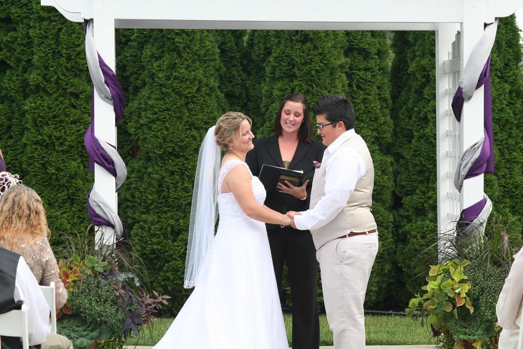 LGBTQ Wedding Ceremony Frederick MD DeSantis Entertainment DJ (Copy)