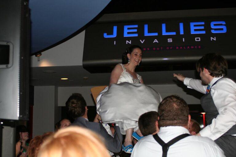 Wedding Reception Hora National Aquarium Baltimore MD DeSantis DJ (Copy)
