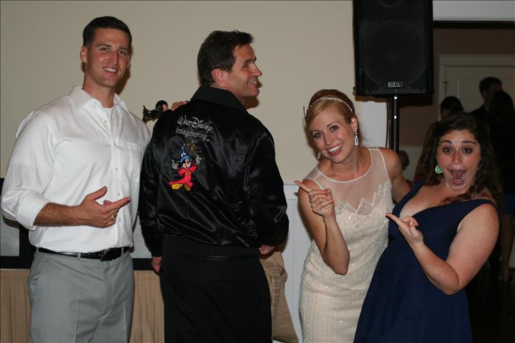 walt disney wedding DeSantis DJ Music Event Planning Towson MD Cheaspeake Bay Beach Club Upper Eastern Shore MD